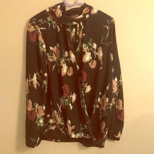 Vince Camuto floral blouse